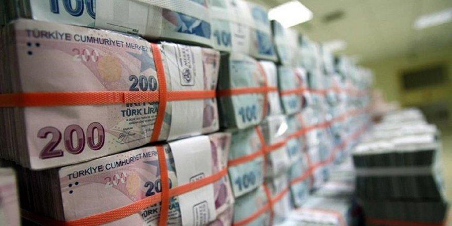 Merkezi yönetim brüt borç stoku 1 trilyon 162.4 milyar lira