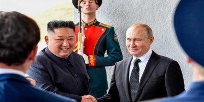 Dünya bu buluşmaya kilitlendi! Vladimir Putin ve Kim Jong-un ilk kez....