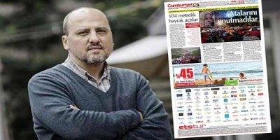 Ahmet Şık'tan Cumhuriyet gazetesinin arka sayfasındaki ETS Tur reklamına tepki