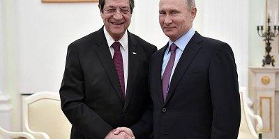 NİKOS ANASTASİADİS: UMARIZ RUSYA, KIBRIS SORUNUNUN ÇÖZÜMÜ İÇİN TÜRKİYE'YE ETKİ EDER