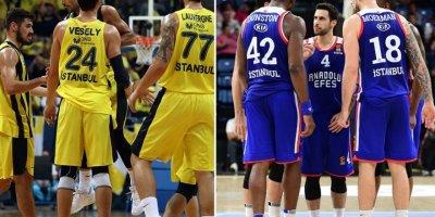 THY Euroleague Final Four'da Türk derbisi yaşanacak! Anadolu Efes - Fenerbahçe Beko