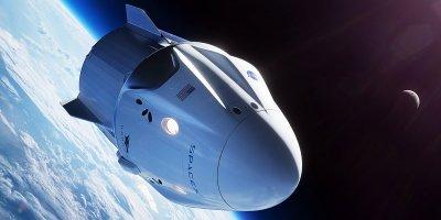 SPACEX'İN 'CREW DRAGON' MEKİĞİNİN YER TESTİ SIRASINDA YANARAK TAHRİP OLDUĞU BİLDİRİLDİ