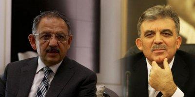 """Mehmet Özhaseki'den Abdullah Gül açıklaması: """"Oluyorsa yaparlar, ne yapalım"""""""