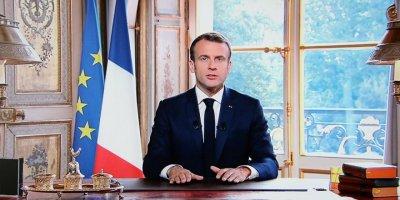 Macron: Güçlenen bir Çin ve dünyaya kendi görüşünü empoze etmeye çalışan bir ABD görüyoruz