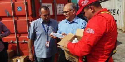 Çin'den Venezüella'ya 77 tonluk tıbbi yardım