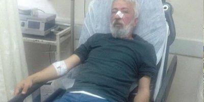 Gazeteci İdris Özyol'a kimliği belirsiz kişiler tarafından saldırı düzenlendi