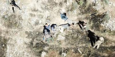 Teröristlerin Teslim Olma Anı Görüntülerde