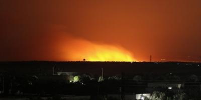 İdlib'de Hava Saldırılarında 4 Sivil Öldü, Yüzlerce Dönüm Arazi Yakıldı