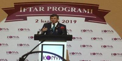 Ahmet Davutoğlu Memleketi Konya'da Son Noktayı Koydu. Yeni Parti'yi Açıkladı
