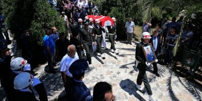 Helikopterden Düşerek Şehit Olan Asker Son Yolculuğuna Uğurlandı