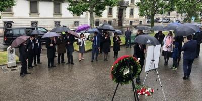 Şehit Diplomat Yergüz, Cenevre'de Anıldı