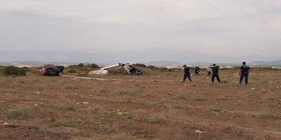 Antalya'nın Manavgat İlçesinde Sivil Eğitim Uçağı Düştü