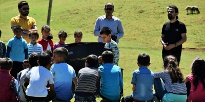 'Kusursuz Kulak' İlk Konserini Köyde Verdi