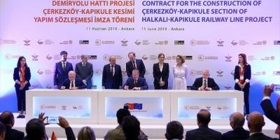 Avrupa İle Yüksek Standartlı Demir Yolu Bağlantısı İçin İmzalar Atıldı