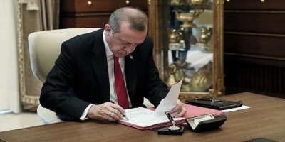 Cumhurbaşkanı Erdoğan'ın İmzasıyla Torba Yasa Yürürlüğe Girdi