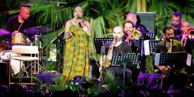 Dee Dee Bridgewater Antalya'da Konser Verdi