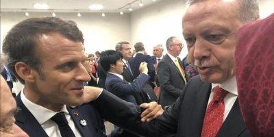 Cumhurbaşkanı Erdoğan Macron'un Yüzüne Söyledi: Sen Bu Konuda Konuşamazsın