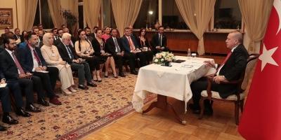 Cumhurbaşkanı Erdoğan: Bm'nin Terör Örgütü Ypg/pkk İle Anlaşma İmzalaması Asla Kabul Edilemez