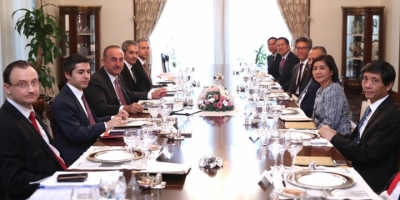 Bakan Çavuşoğlu Asean Ülkelerinin Büyükelçileriyle Bir Araya Geldi