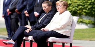 Alman Basını Merkel'in Titremesinin Adını Koydu: Hipoglisemi Atağı