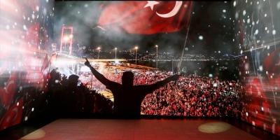 '15 Temmuz Milletin Zaferi Dijital Gösterim Merkezi' Ziyarete Açıldı