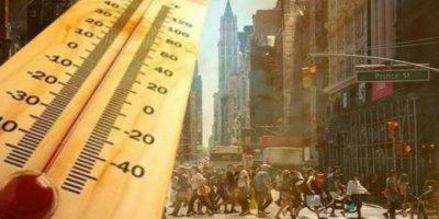 ABD Sıcaktan Kavruluyor, New York'ta Acil Durum İlan Edildi