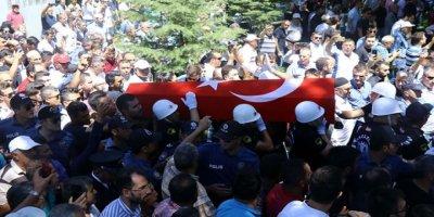 Şehit Polis Memuru Uluçay, Son Yolculuğuna Uğurlandı