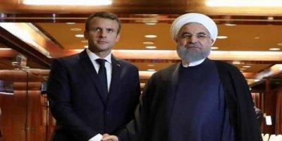 Ruhani İle Macron, ABD'ye Karşı Aynı Fikirde
