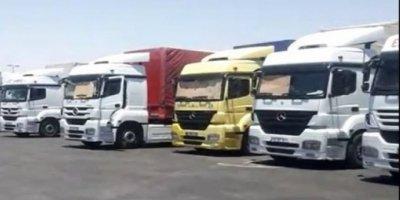 Suudi Arabistan, Türkiye'den İhraç Malı Taşıyan 80 Tırı Bir Haftadır Bekletiyor
