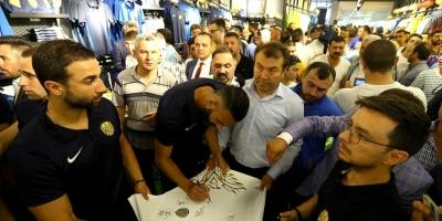 Mke Ankaragücü'nün Lisanslı Ürün Mağazası Açıldı