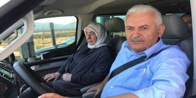 Yıldırım, İzmir'den İstanbul'a kendi kullandığı minibüsle geldi