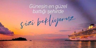 """Kuşadası bayram tatilinin gözdesi Başkan Günel, """" Güneşin en güzel battığı şehirde sizi bekliyoruz """""""