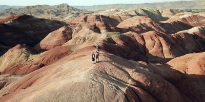 'Gökkuşağı Tepeleri' Yabancı Turistlerden İlgi Görüyor