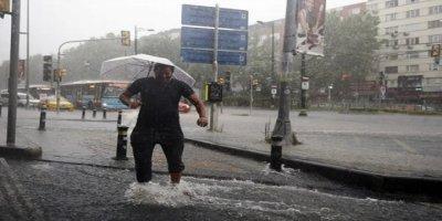 Meteoroloji Kuvvetli Sağanak Uyarısında Bulundu