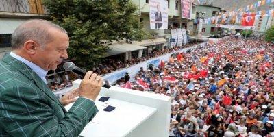 Cumhurbaşkanı Erdoğan'da Artvin'de önemli açıklamalar