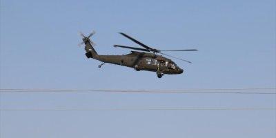 Fırat'ın Doğusunda İlk Ortak Helikopter Uçuşu
