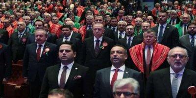 Erdoğan'dan Adli Yıl Açılışına Gelmeyen Barolara Tepki: Bu Mekân Şahsımın Değil, Milletin Evi