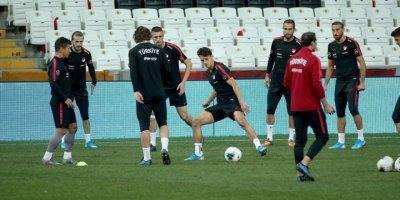 A Milli Futbol Takımı Andorra Maçına Hazır