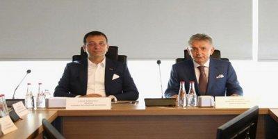 Ekrem İmamoğlu'ndan Cengiz Holding'e Ziyaret