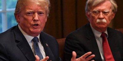 Trump'tan Bolton İçin Zeki Değil Açıklaması