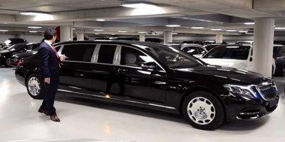 Külliyeye 4 Mercedes- Maybach Daha Geliyor