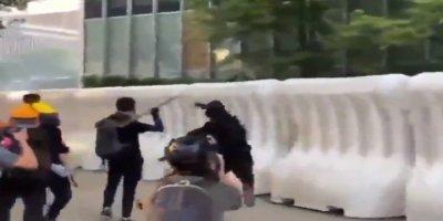 Hong Kong'da Protestoların Önüne Geçilemedi