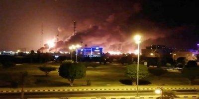 Suudi Arabistan Petrol Tesislerine Yapılan Saldırıların Detaylarını Açıkladı: 25 İHA Saldırdı