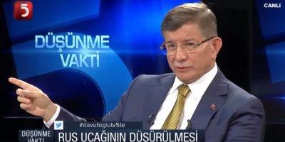 Davutoğlu açıkladı: Rus uçağını ben değil Hulisi Akar düşürdü