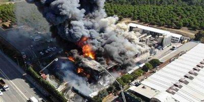 Tuzla'daki Kimyasal Fabrika Yangınını PKK Üstlendi