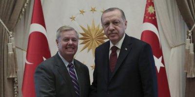 Senatör Graham: Türkiye Suriye'ye Girerse Yaptırım Kararı Çıkarıp NATO Üyeliğinin Askıya Alınması Çağrısı Yapacağız