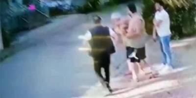 Halil Sezai'nin 67 yaşındaki yaşlı adamı öldüresiye dövdüğü görüntüler ortaya çıktı