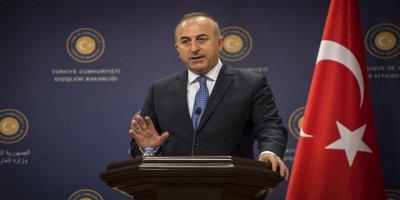 Çavuşoğlu: PYD'ye verilen silahların hepsinin geri toplanması mümkün değil