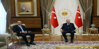Cumhurbaşkanı Erdoğan, Ali Koç'u kabul etti.