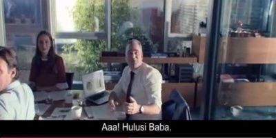 """Ziraat Bankasından """"Hulusi Baba""""lı yeni reklam filmi"""